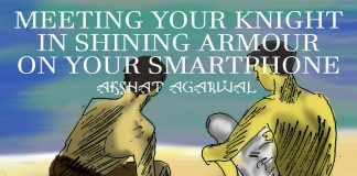 Ashat Arghawal_ meeting your knight in shining armour on your smartphone