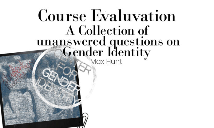 Course Evaluation Cover