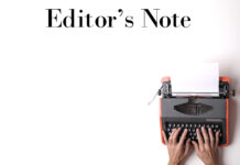 Editors Note Cover