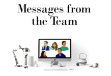 Messages from the Team Cover